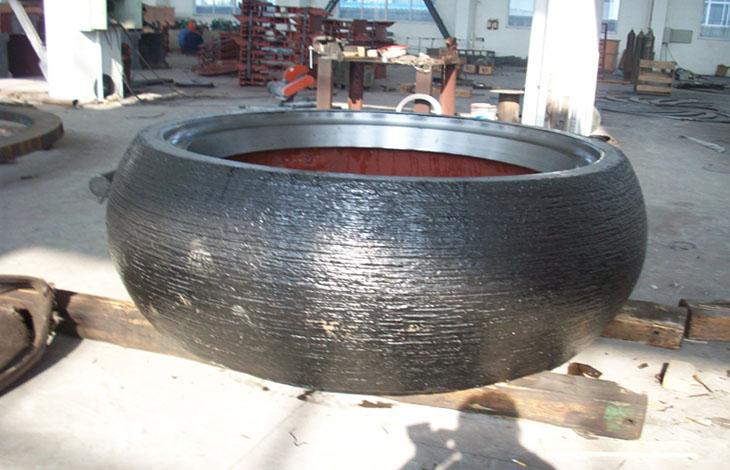 【贝博网址进不去】与您分享立磨机的轮胎辊套为什么这么耐用?